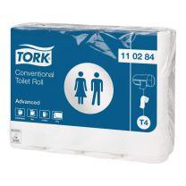 Tork toiletpapir 2-lag T4 - 24 ruller