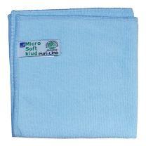 Rengøringsklud, PL Soft, 32x32cm, blå
