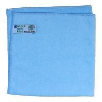 Rengøringsklud, PL Soft, 40x40cm, blå