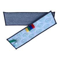 Fugtmoppe, PL Micro Brush, grå, 40 cm
