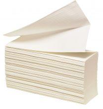 Håndklædeark W-fold, 32x23,5cm, 2500 ark