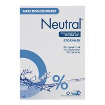 Neutral Storvask, vaskepulver 4x1.275 g