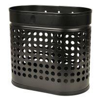 Affaldsbeholder til væg - mat sort - 20L