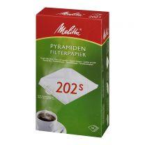 Kaffefilter Melitta 202 - 5x100 stk