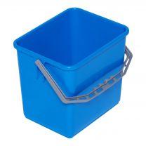 Spand 6 liter - blå