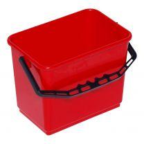 Spand 4 liter - rød