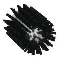 Rørbørste 77 mm - sort