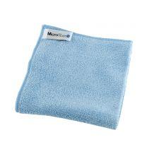 Microfiberklud soft 40 x 40 cm - blå
