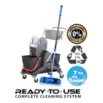 Nordic Recycle Sped Mop System - komplet