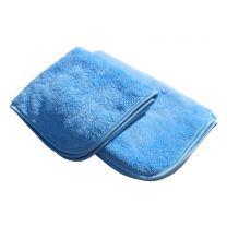 Autoklud microfiber - blå - 40x40 cm