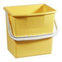 Ringo plastspand - 6 liter - gul
