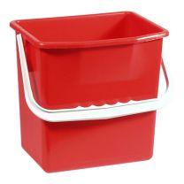Ringo plastspand - 6 liter - rød