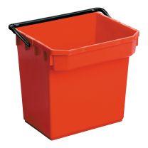 Plastspand 15 liter- rød til N-300 vogne