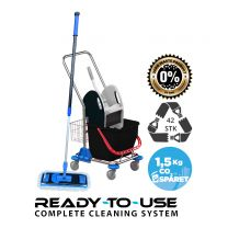 Nordic Recycle Speed Mop System komplet