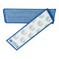 Mikro vision mop snoet garn, blå - 40 cm