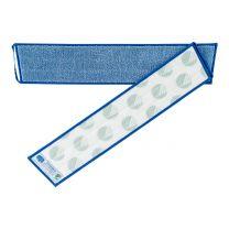Mikro vision mop snoet garn, blå - 60 cm