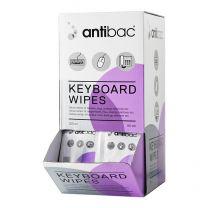 Antibac Keyboard Wipes - 80 stk.