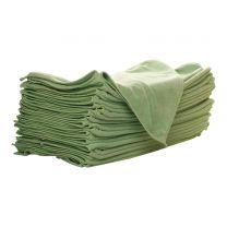 Malkeklud microfiber 40 x 40 cm - grøn