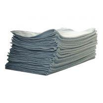 Malkeklud microfiber 40 x 40 cm - blå